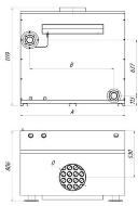 Размеры газового котла ЯИК КС-Г-150/200